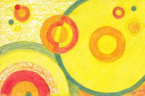 Claude, Pastels à l'huile sur papier, 2014