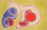 Bibiane, Pastels secs sur papier, 2013