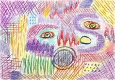 Fabienne, Crayon sur papier, 2013